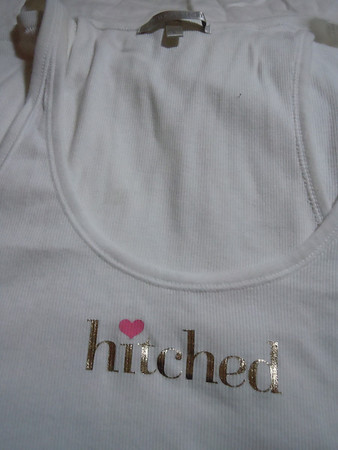 Team bride victoria secret hitched tank top
