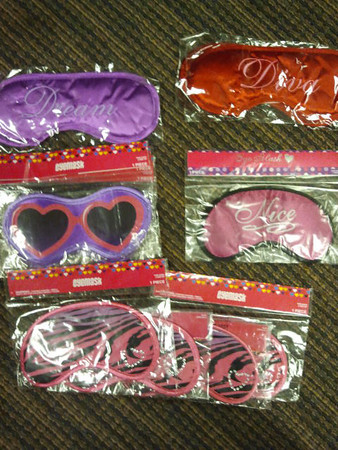 eye masks bridesmaids gifts favors shower