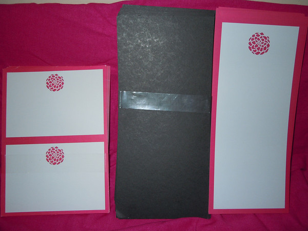 pink white black gartner studios diy invitation set