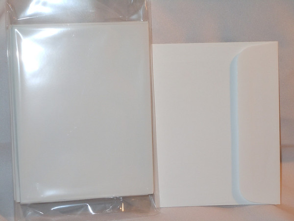 reply card white envelopes
